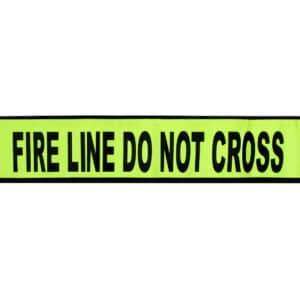 Flex-Safe USA - Do Not Cross Yellow