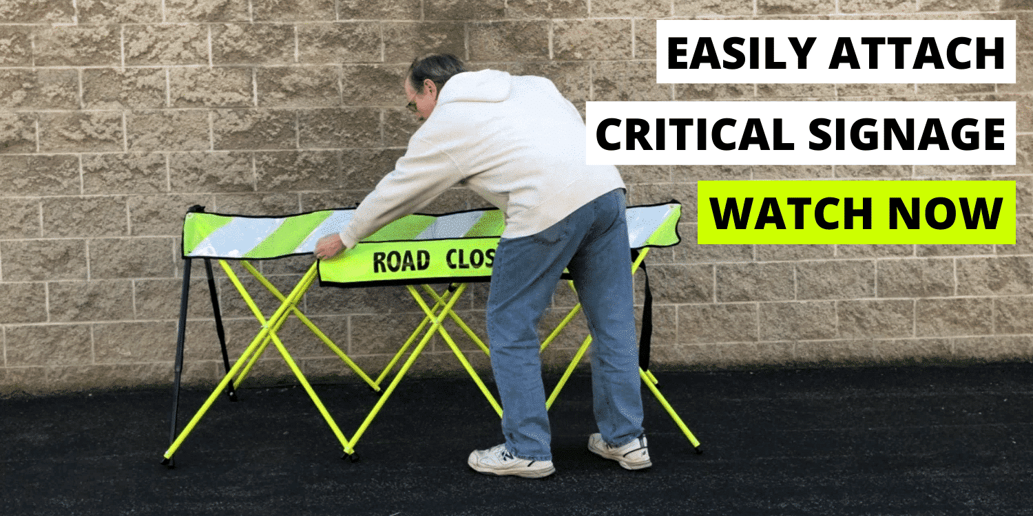 Attach Traffic Signs - Explainer - Thumbnail - Flex-Safe - Safety Barricades