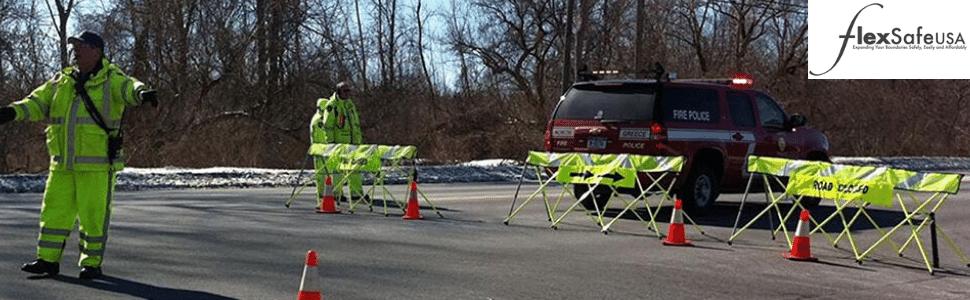 Safety Barricades - Flex Safe