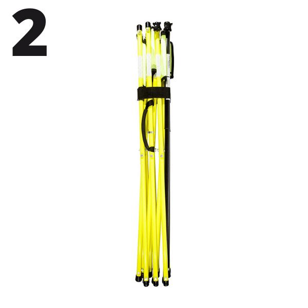 Step 2 - Yellow - Setup - Flex Safe - Barricades