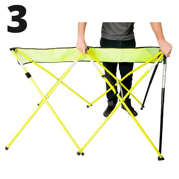 Step 3 - Yellow - Setup - Flex Safe - Barricades