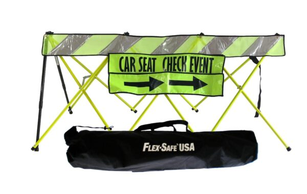 Flex Safe USA Car Seat Check Sign Bundle