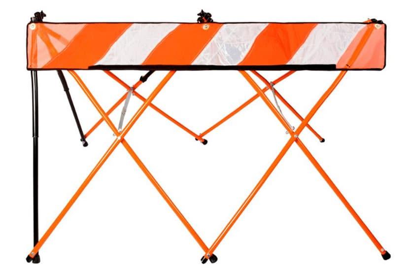 FlexSafe USA - Orange Safety Barricade